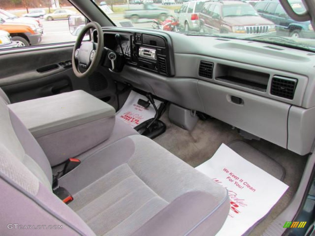 1996 Dodge Ram 1500 St Extended Cab 4x4 Tan Dashboard