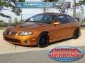 Brazen Orange Metallic 2006 Pontiac GTO Coupe