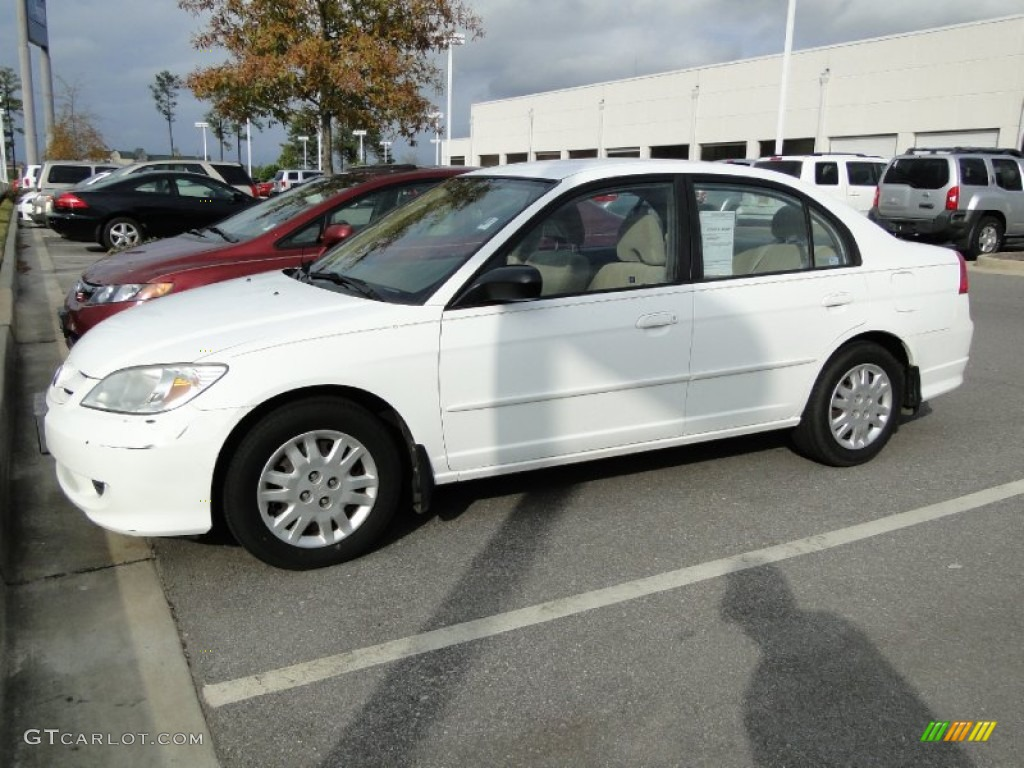 Taffeta White Honda Civic. Honda Civic LX Sedan
