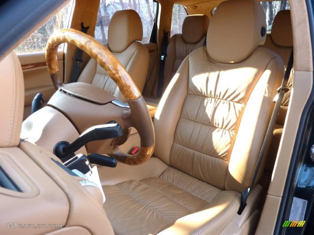 2004 Porsche Cayenne Turbo Interior Color Photos