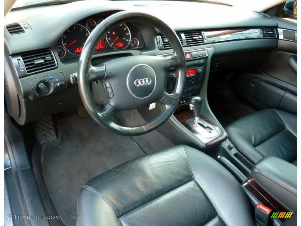 ebony interior 2004 audi a6 2 7t quattro sedan photo. Black Bedroom Furniture Sets. Home Design Ideas