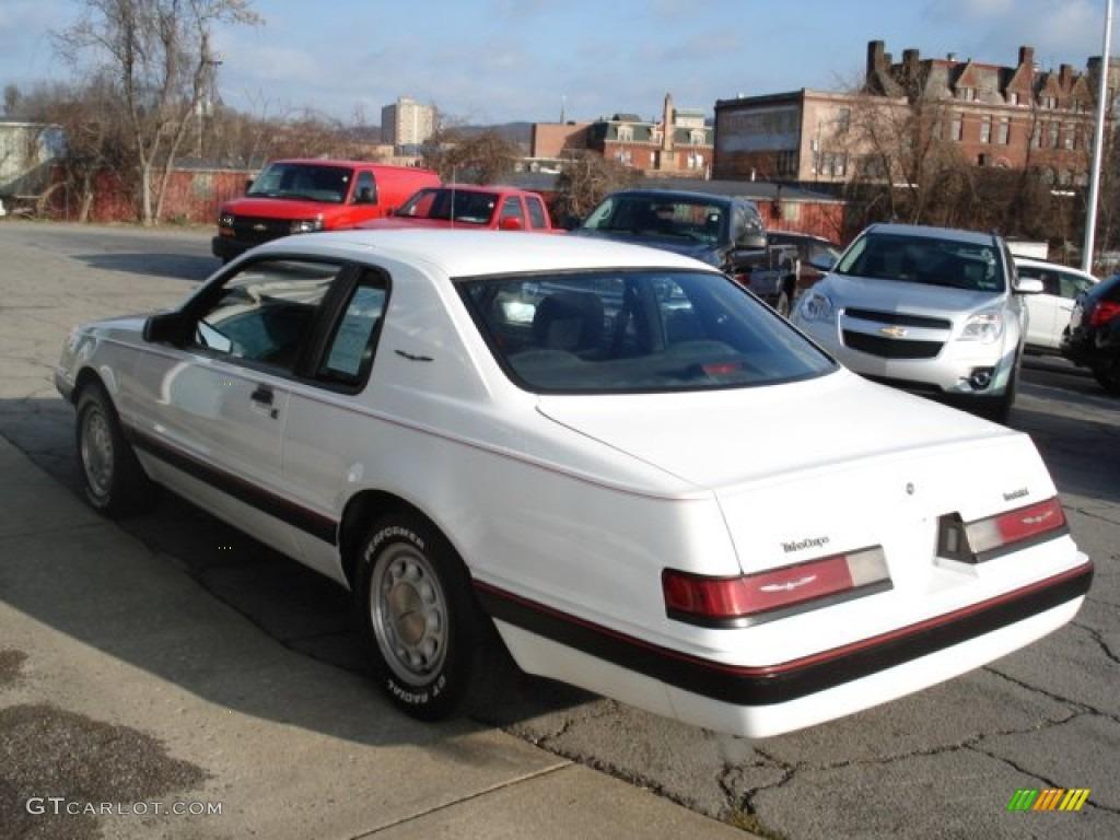 Oxford White 1986 Ford Thunderbird Turbo Coupe Exterior ...