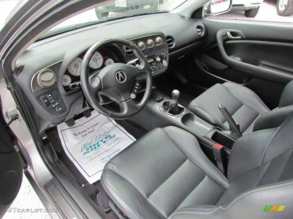 ebony interior 2006 acura rsx type s sports coupe photo 57637933. Black Bedroom Furniture Sets. Home Design Ideas