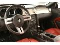 Red Leather Dashboard Photo for 2005 Ford Mustang #57637960