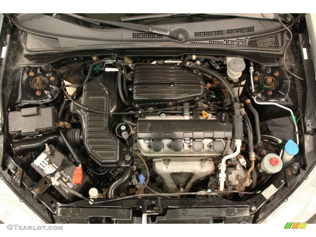 2004 Honda Civic Value Package Coupe 1.7L SOHC 16V VTEC 4 Cylinder