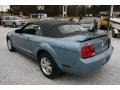 2006 Windveil Blue Metallic Ford Mustang V6 Deluxe Convertible  photo #7