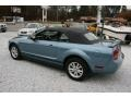 2006 Windveil Blue Metallic Ford Mustang V6 Deluxe Convertible  photo #8