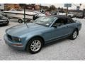 2006 Windveil Blue Metallic Ford Mustang V6 Deluxe Convertible  photo #10