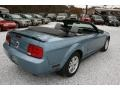 2006 Windveil Blue Metallic Ford Mustang V6 Deluxe Convertible  photo #15