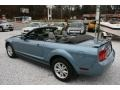2006 Windveil Blue Metallic Ford Mustang V6 Deluxe Convertible  photo #16