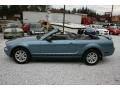 2006 Windveil Blue Metallic Ford Mustang V6 Deluxe Convertible  photo #17