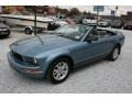 2006 Windveil Blue Metallic Ford Mustang V6 Deluxe Convertible  photo #18