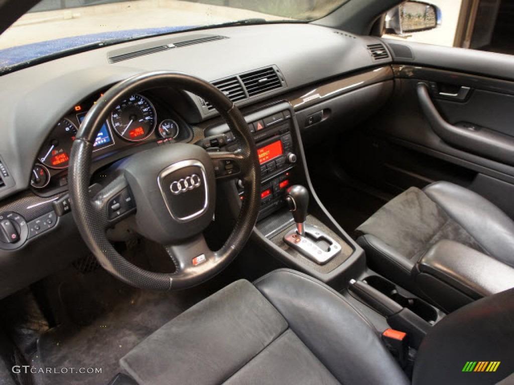Ebony Interior Audi S Quattro Sedan Photo - 2007 audi s4