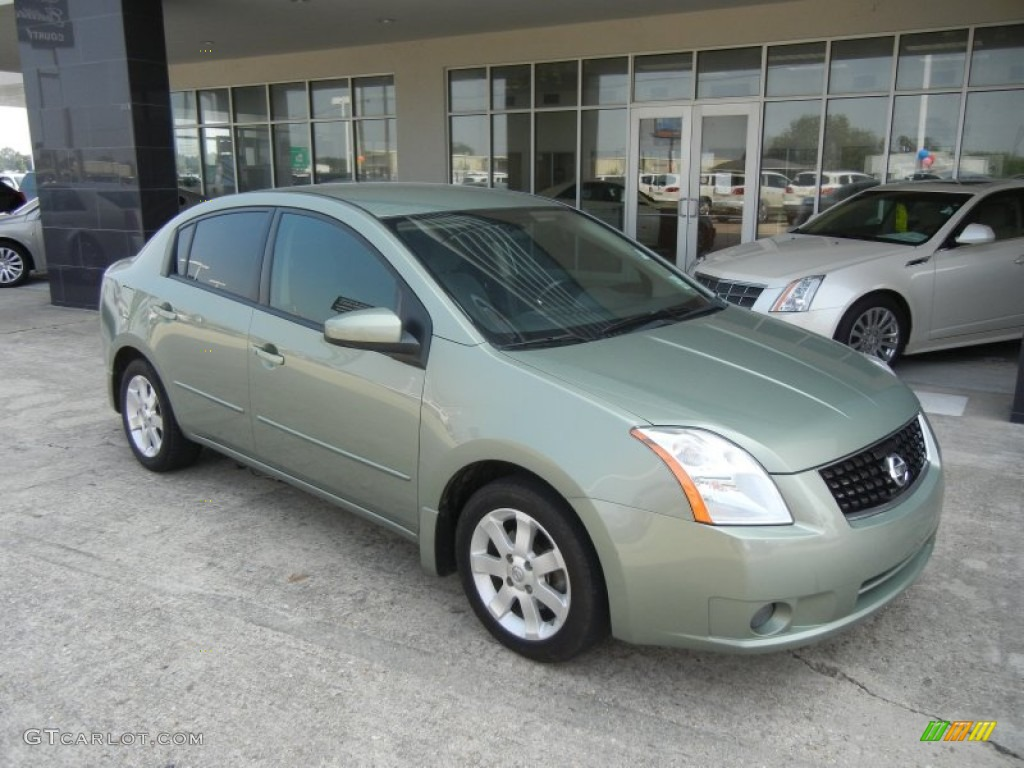 2008 metallic jade green nissan sentra 2 0 sl 57610989. Black Bedroom Furniture Sets. Home Design Ideas