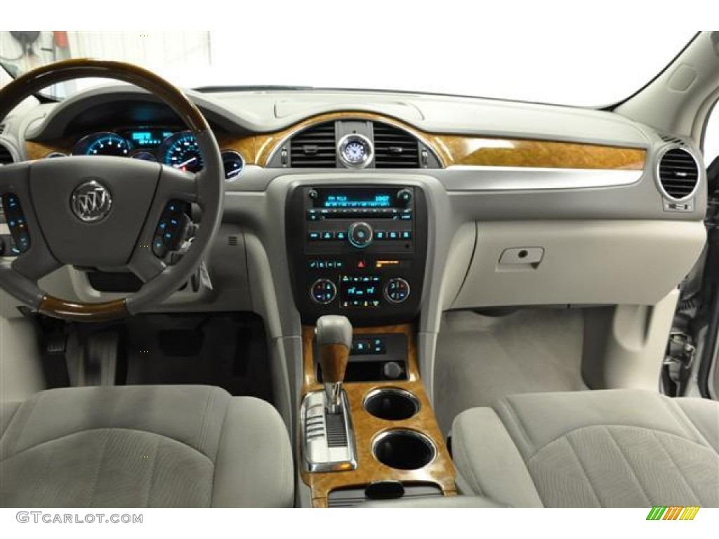 2008 Buick Enclave CX Titanium/Dark Titanium Dashboard Photo #57663020