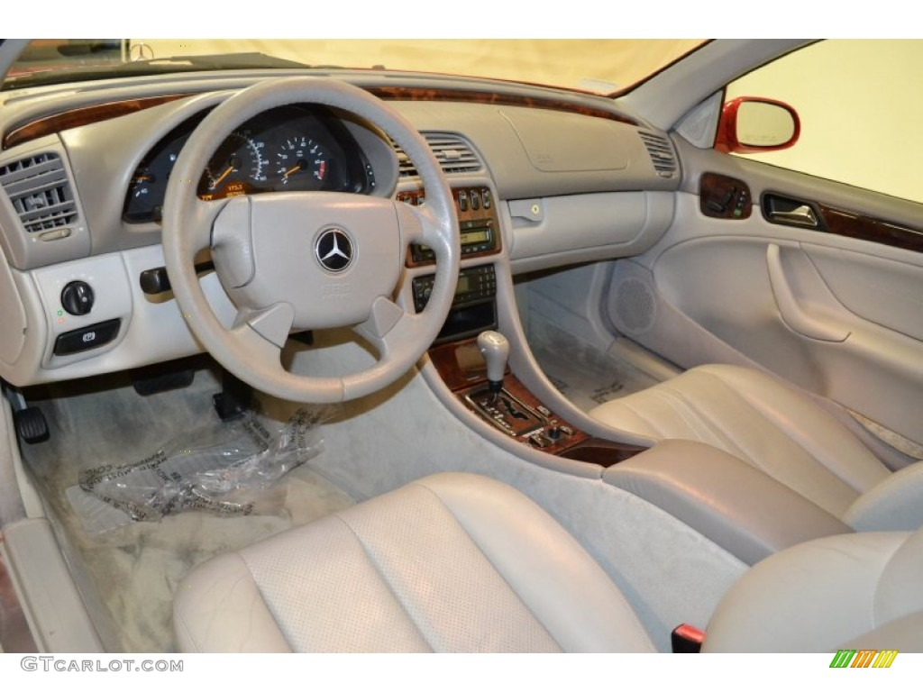 Ash Interior 1999 Mercedes Benz Clk 320 Convertible Photo