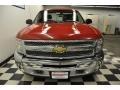 2012 Victory Red Chevrolet Silverado 1500 Work Truck Regular Cab 4x4  photo #4