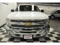 2012 Summit White Chevrolet Silverado 1500 LS Extended Cab 4x4  photo #5