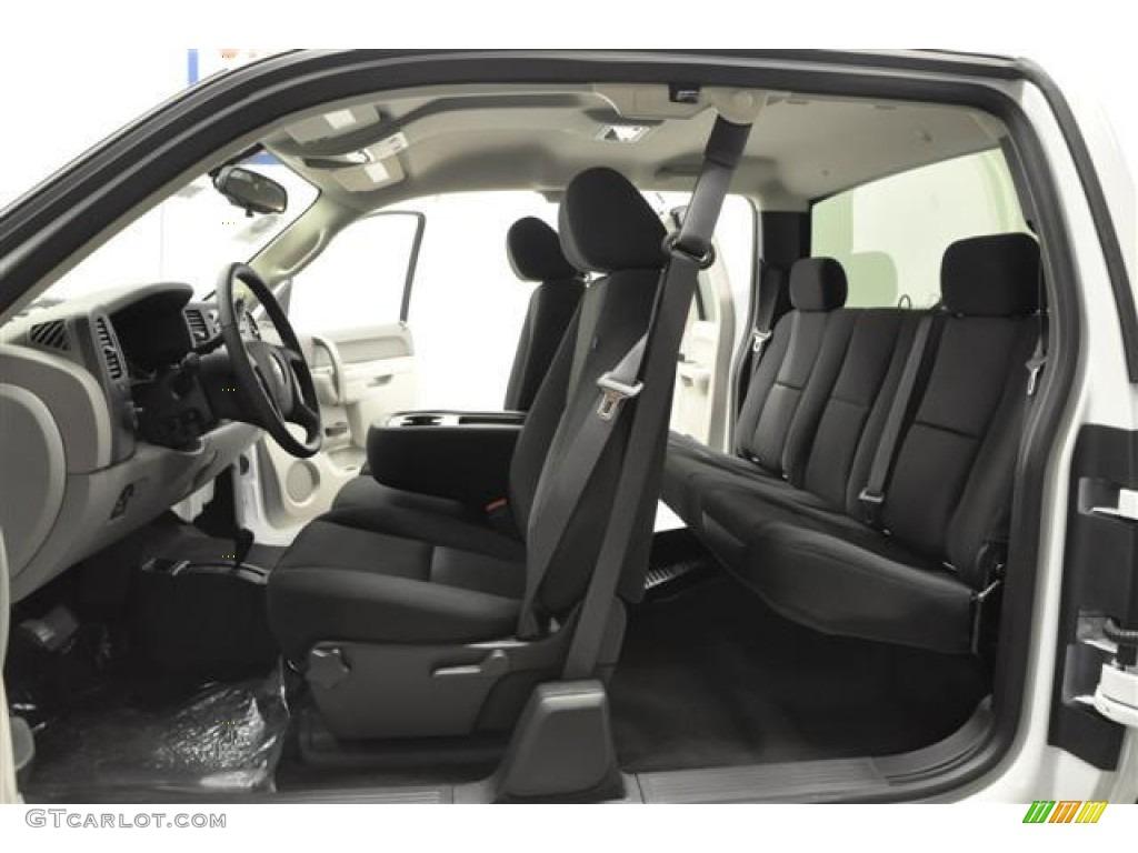 2012 Silverado 1500 LS Extended Cab 4x4 - Summit White / Dark Titanium photo #8