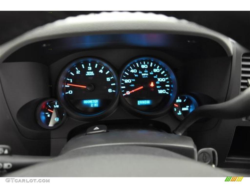 2012 Silverado 1500 LS Extended Cab 4x4 - Summit White / Dark Titanium photo #12