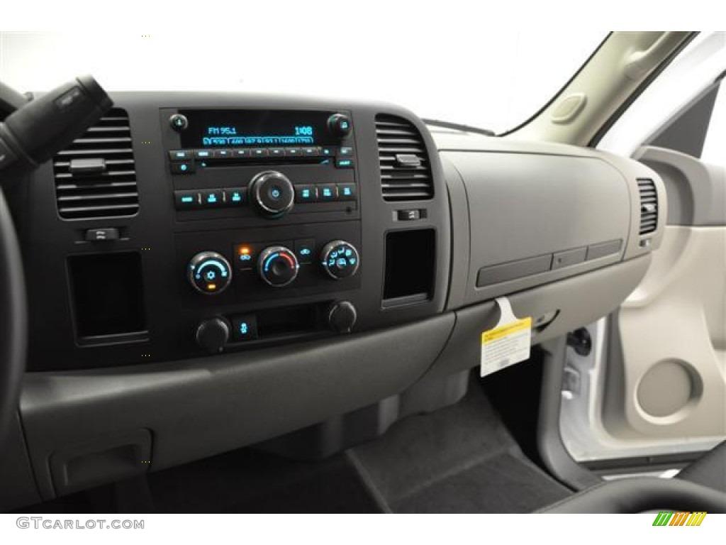 2012 Silverado 1500 LS Extended Cab 4x4 - Summit White / Dark Titanium photo #13