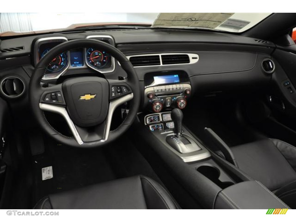 2012 Chevrolet Camaro Lt Rs Convertible Black Dashboard