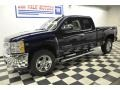 2012 Imperial Blue Metallic Chevrolet Silverado 1500 LT Extended Cab 4x4  photo #21