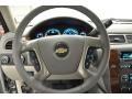 2012 Silver Ice Metallic Chevrolet Silverado 1500 LTZ Extended Cab 4x4  photo #15