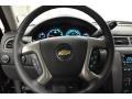 2012 Black Chevrolet Silverado 1500 LTZ Extended Cab 4x4  photo #8