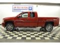 2012 Victory Red Chevrolet Silverado 1500 LTZ Extended Cab 4x4  photo #2