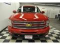 2012 Victory Red Chevrolet Silverado 1500 LTZ Extended Cab 4x4  photo #3