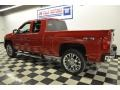 2012 Victory Red Chevrolet Silverado 1500 LTZ Extended Cab 4x4  photo #4