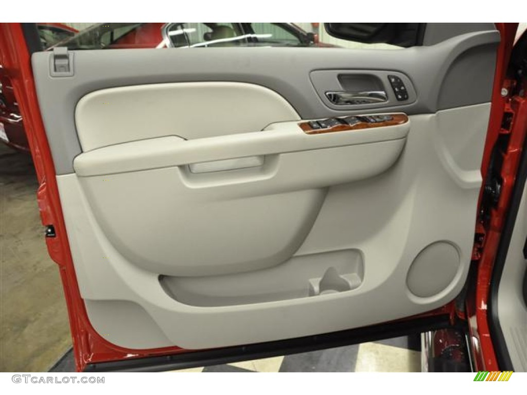 2012 Silverado 1500 LTZ Extended Cab 4x4 - Victory Red / Light Titanium/Dark Titanium photo #7