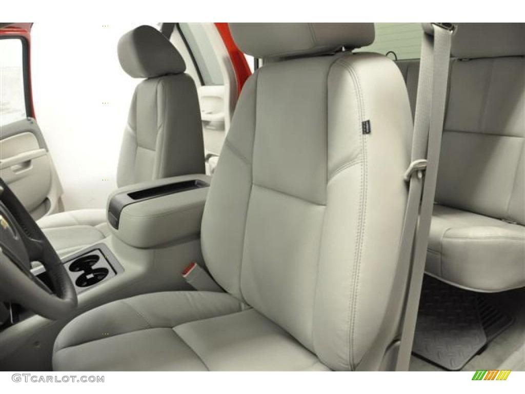 2012 Silverado 1500 LTZ Extended Cab 4x4 - Victory Red / Light Titanium/Dark Titanium photo #10