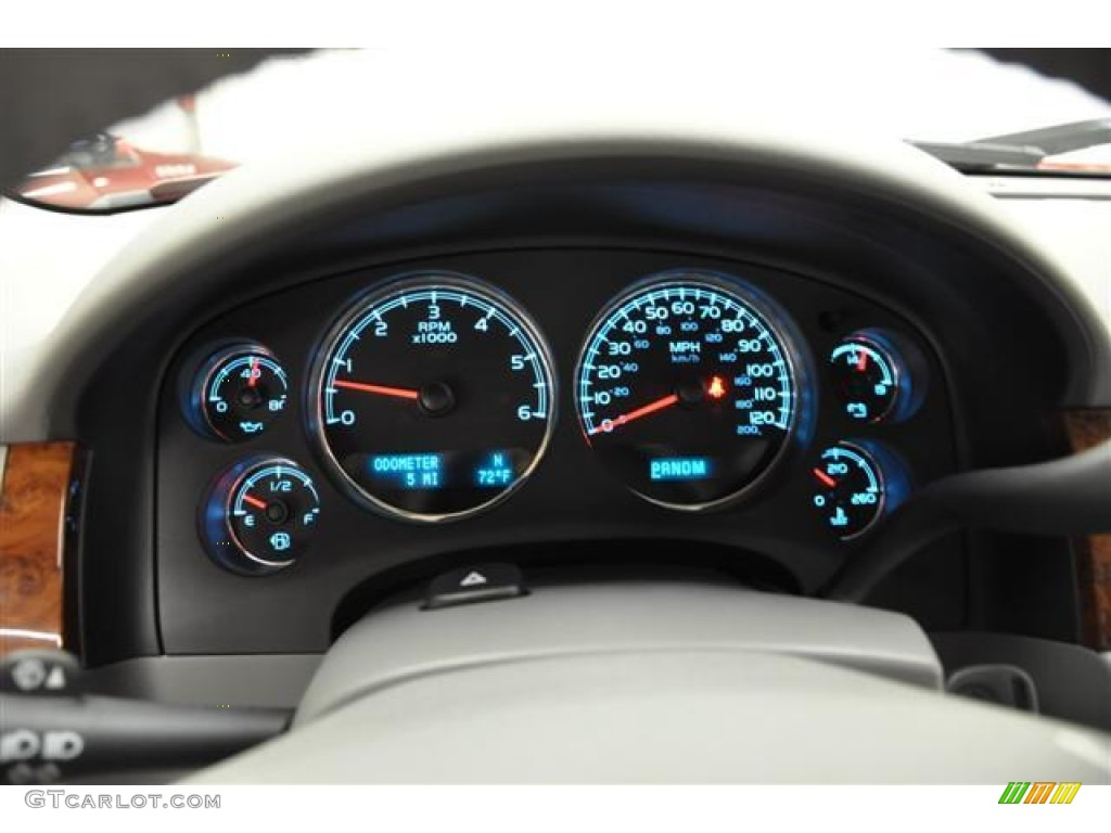 2012 Silverado 1500 LTZ Extended Cab 4x4 - Victory Red / Light Titanium/Dark Titanium photo #15