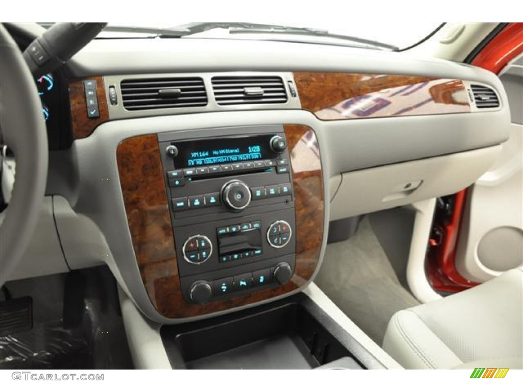 2012 Silverado 1500 LTZ Extended Cab 4x4 - Victory Red / Light Titanium/Dark Titanium photo #16