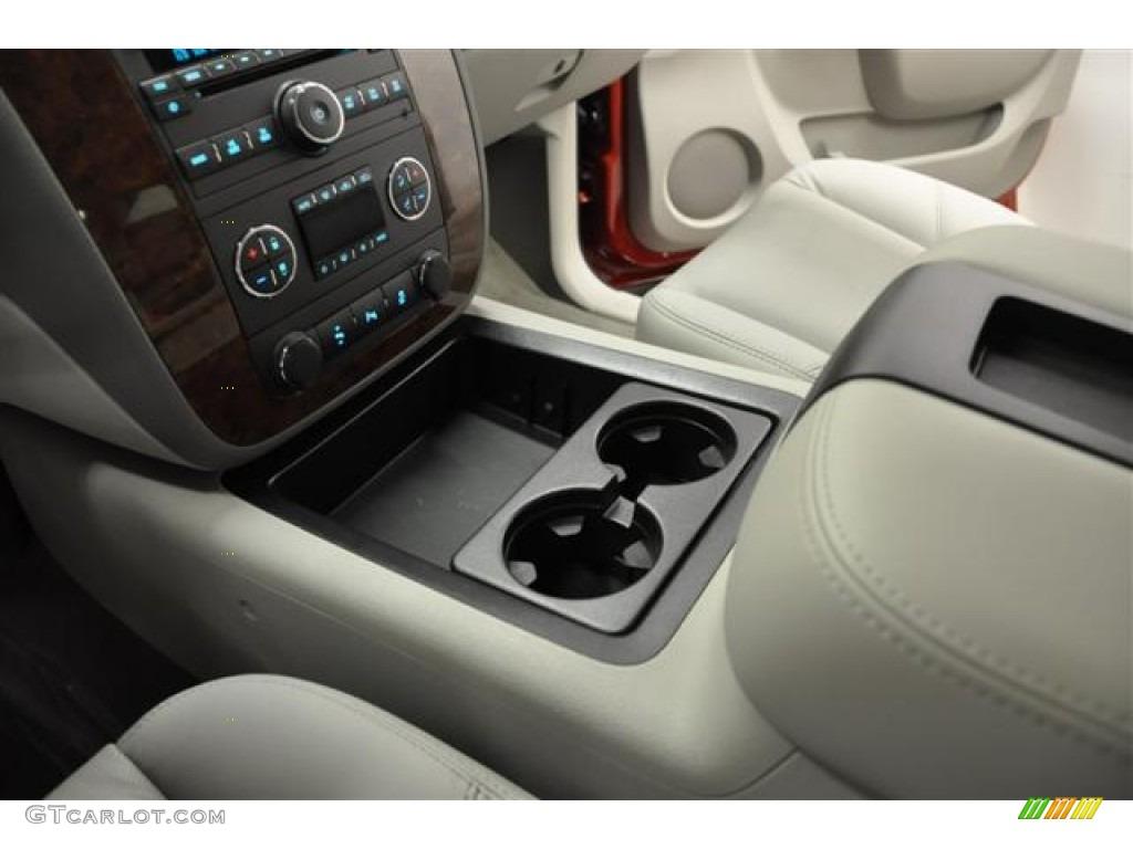 2012 Silverado 1500 LTZ Extended Cab 4x4 - Victory Red / Light Titanium/Dark Titanium photo #18