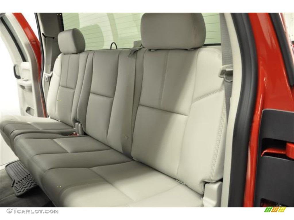 2012 Silverado 1500 LTZ Extended Cab 4x4 - Victory Red / Light Titanium/Dark Titanium photo #19