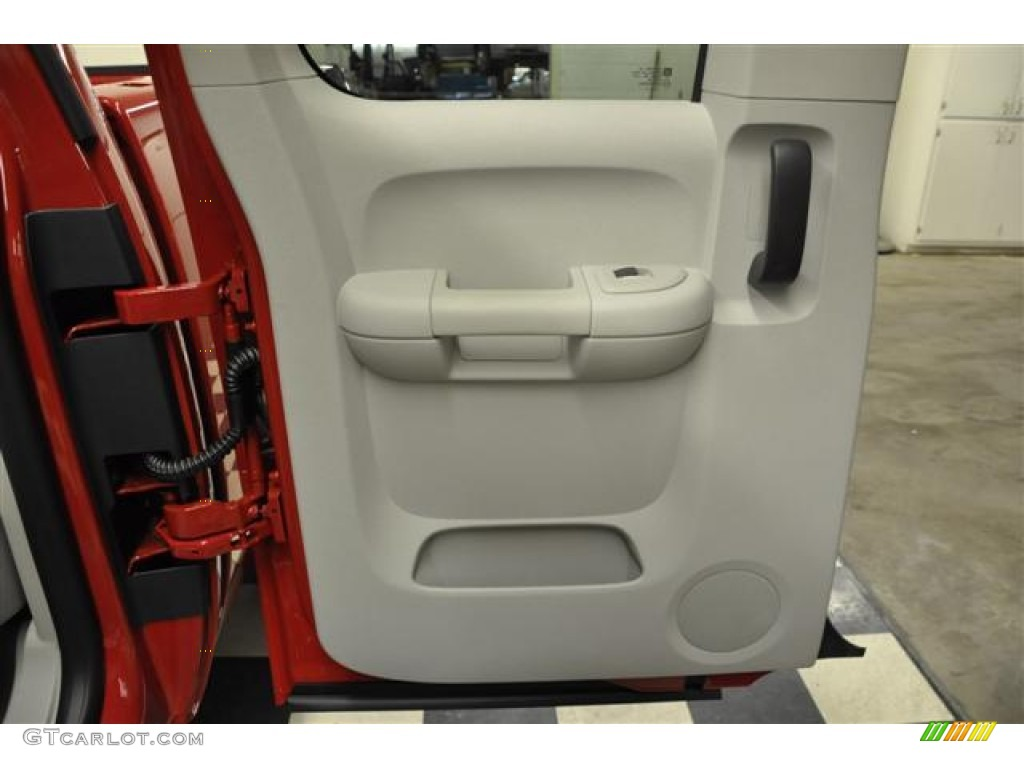 2012 Silverado 1500 LTZ Extended Cab 4x4 - Victory Red / Light Titanium/Dark Titanium photo #21