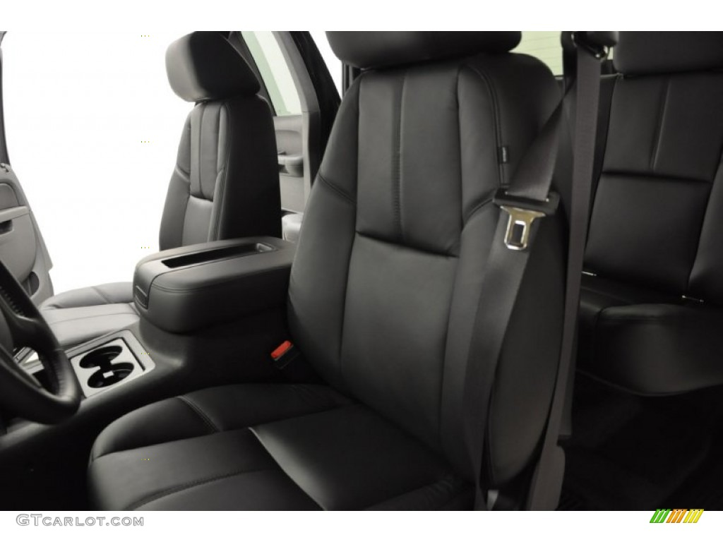 2011 Silverado 1500 LTZ Extended Cab 4x4 - Black / Ebony photo #9