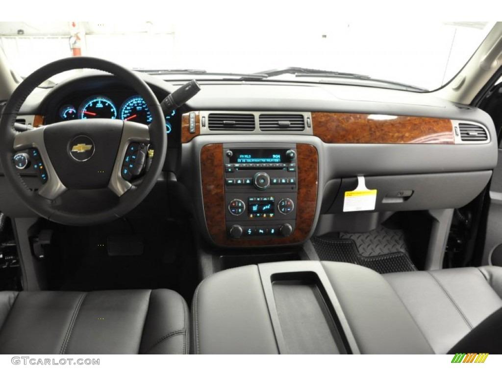 2011 Silverado 1500 LTZ Extended Cab 4x4 - Black / Ebony photo #10