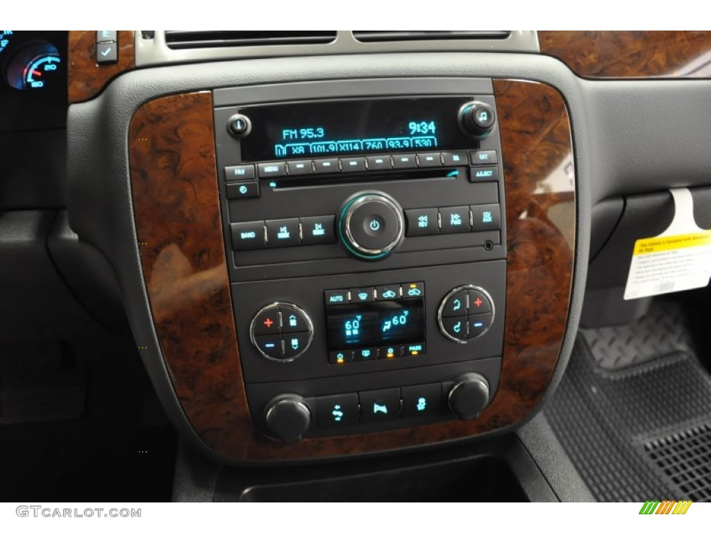 2011 Silverado 1500 LTZ Extended Cab 4x4 - Black / Ebony photo #13