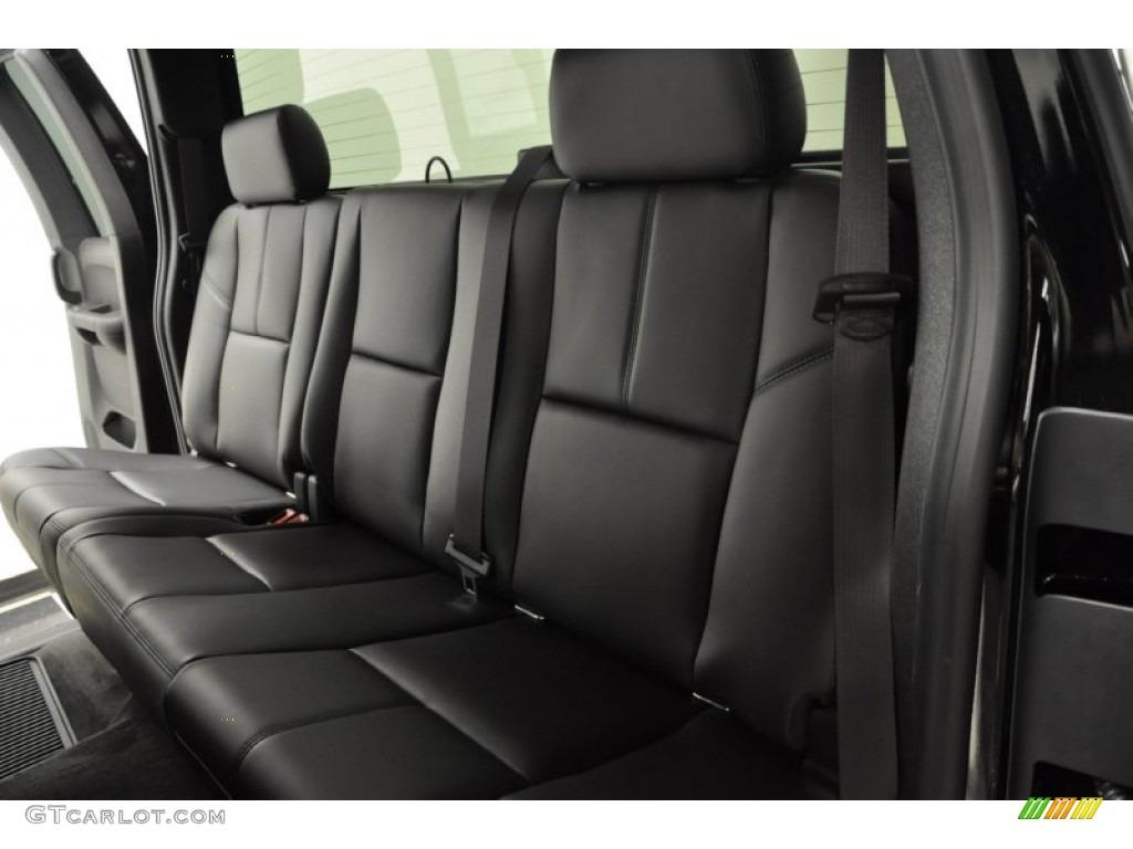 2011 Silverado 1500 LTZ Extended Cab 4x4 - Black / Ebony photo #14