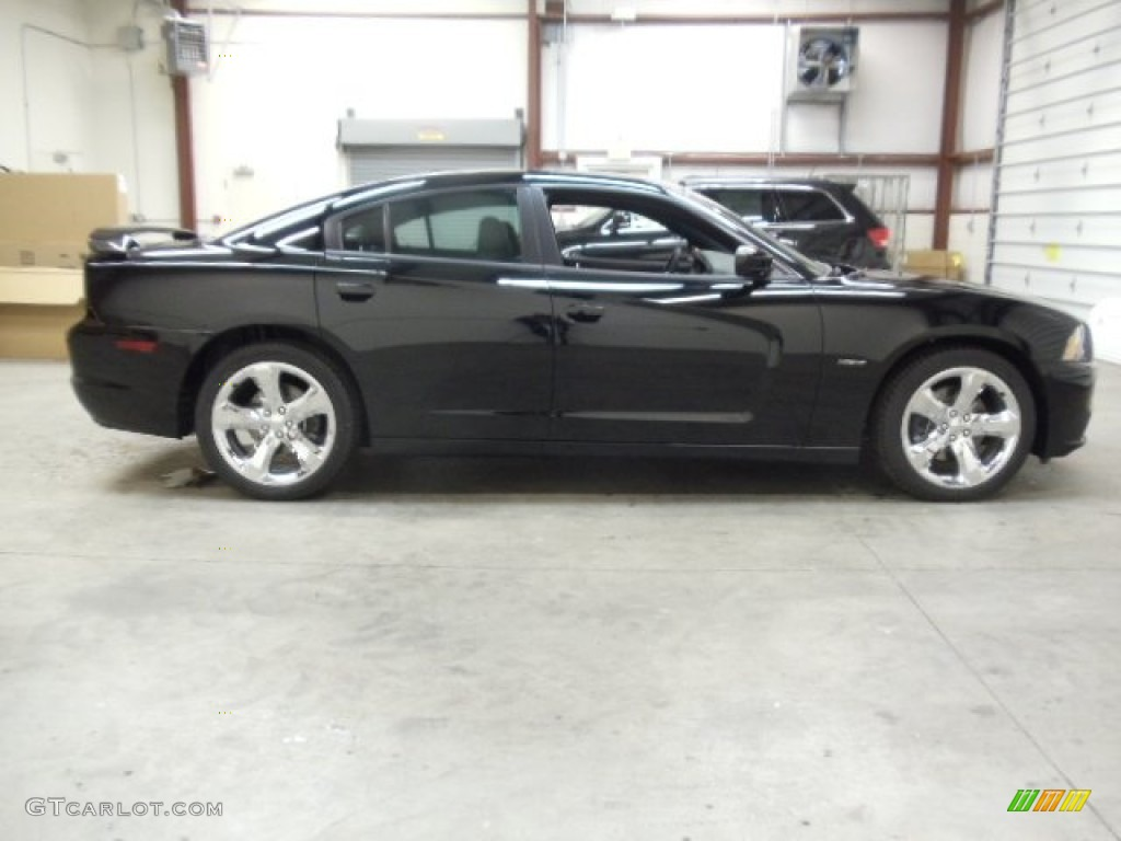 pitch black 2012 dodge charger r t plus exterior photo. Black Bedroom Furniture Sets. Home Design Ideas
