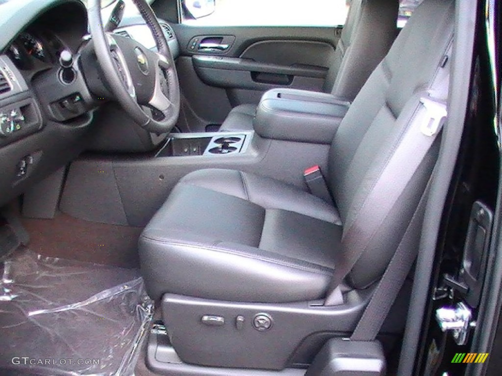 2012 Silverado 1500 LTZ Extended Cab - Black / Ebony photo #2