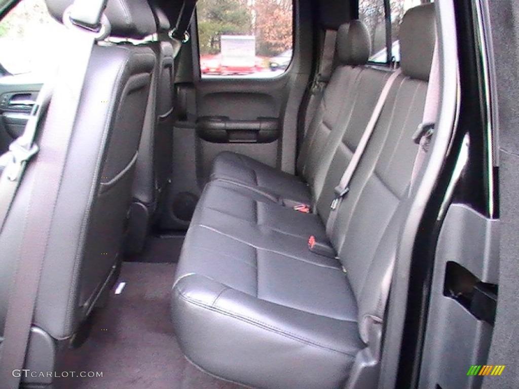 2012 Silverado 1500 LTZ Extended Cab - Black / Ebony photo #3