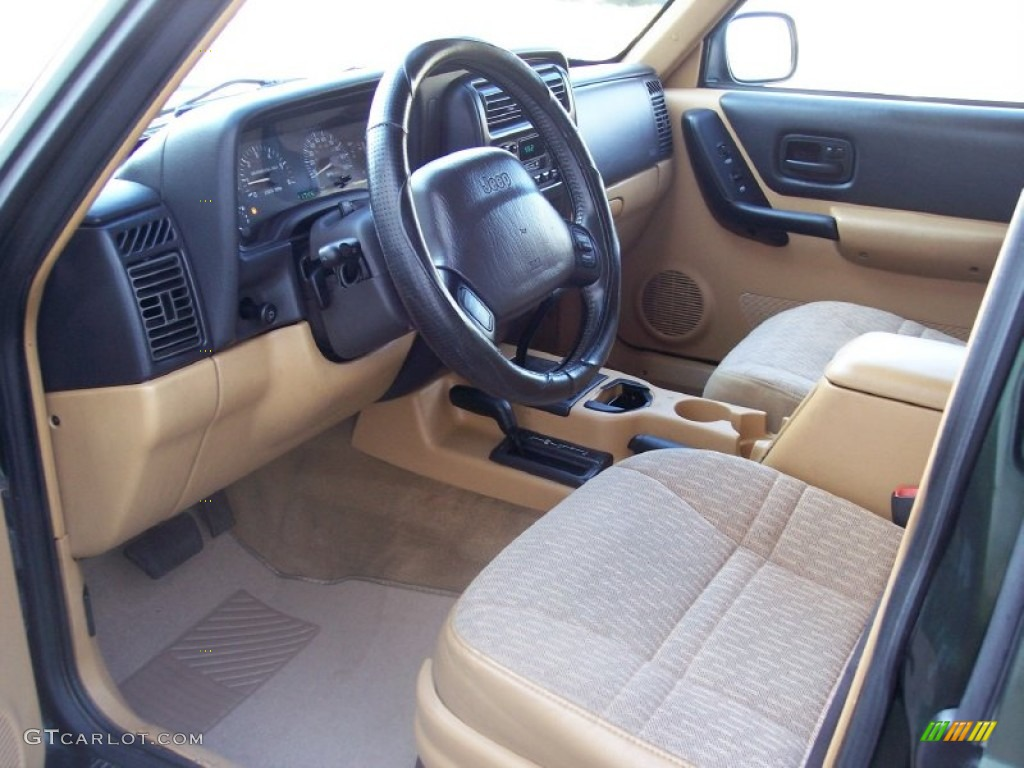 Tan Interior 1997 Jeep Cherokee Sport 4x4 Photo 57704859