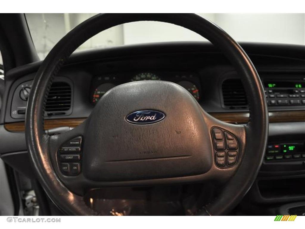 2003 Ford Crown Victoria LX Dark Charcoal Steering Wheel ...