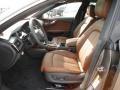 Nougat Brown 2012 Audi A7 Interiors