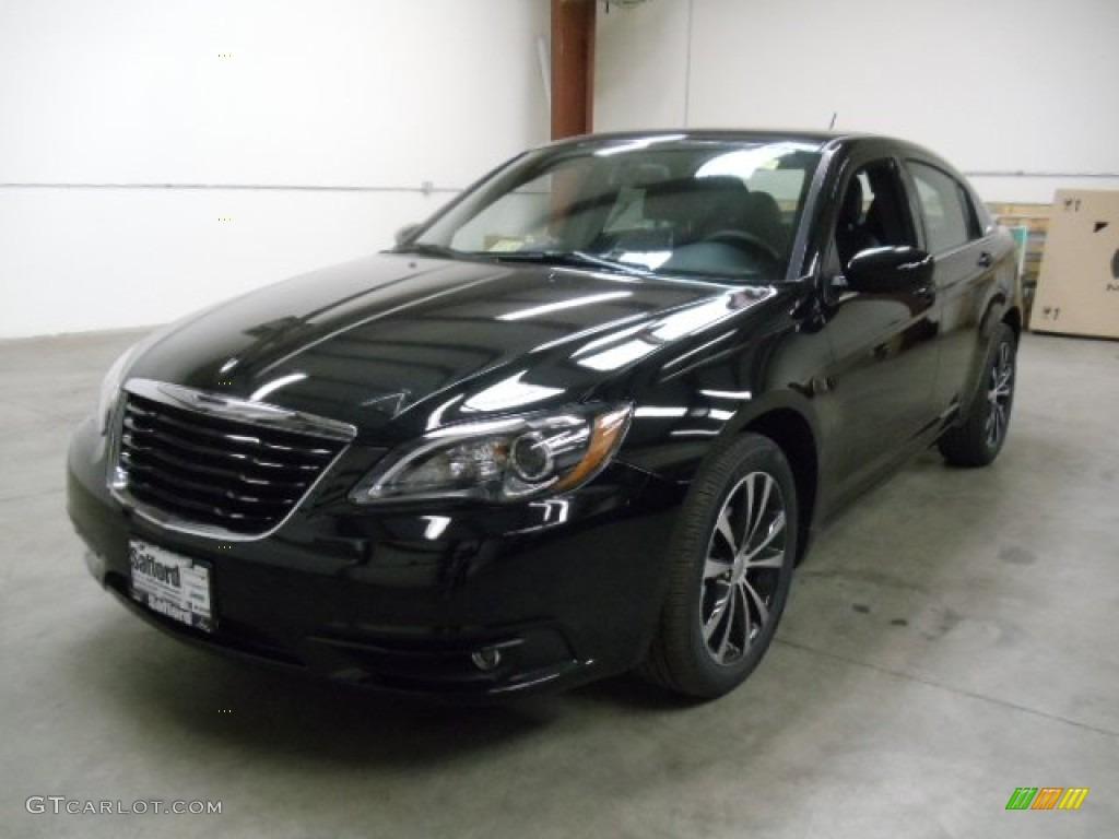 2012 Black Chrysler 200 S Sedan 57696380 Photo 2